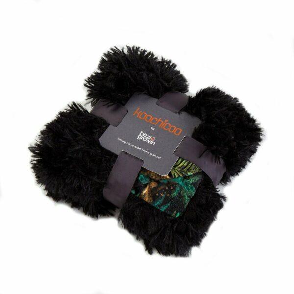 Bizzi Growin Koochicoo Fluffy Baby Blanket – Jungle Roar