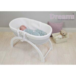 Shnuggle Dreami Baby Sleeper - White