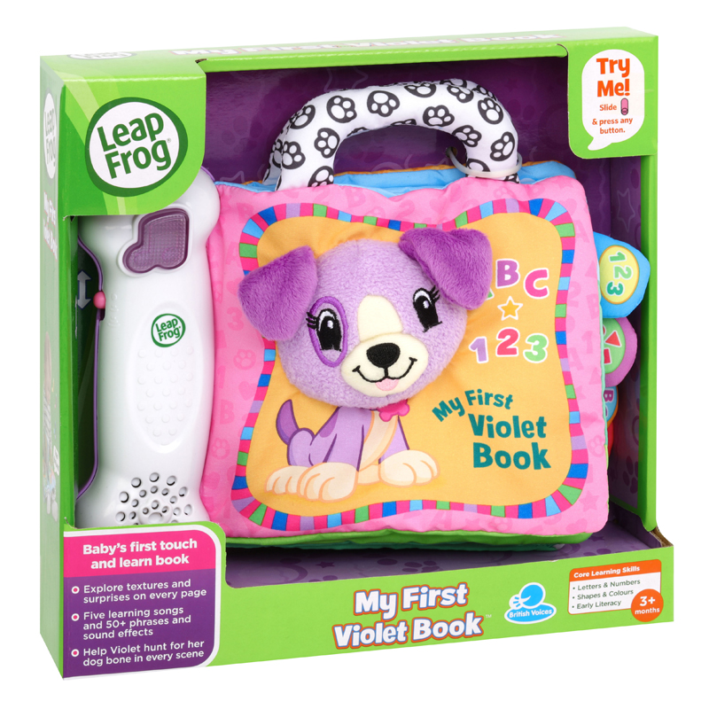 Leap Frog My First Violet & Friends Book