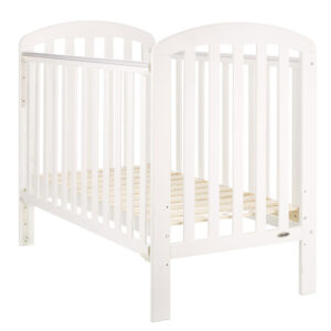 Obaby Lily Cot in White - EASTER OFFER