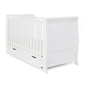 Stamford Sleigh Cotbed with Pocket Sprung mattress