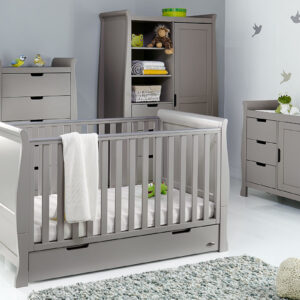 Obaby Stamford Classic 4 Piece Furniture Set -Taupe Grey