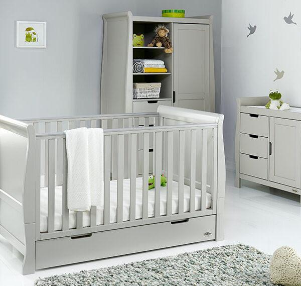 Obaby Classic Stamford Classic 3 piece furniture set – Warm Grey