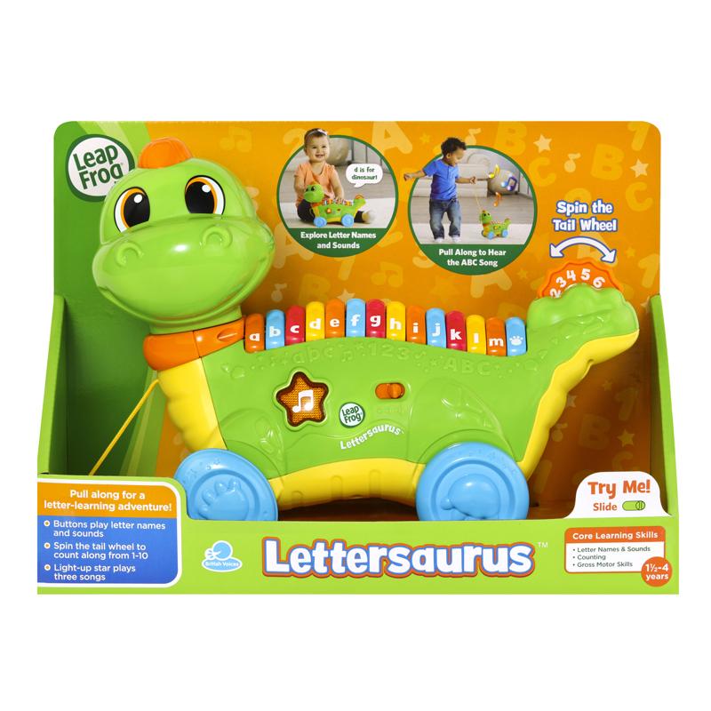 Leap Frog Lettersaurus