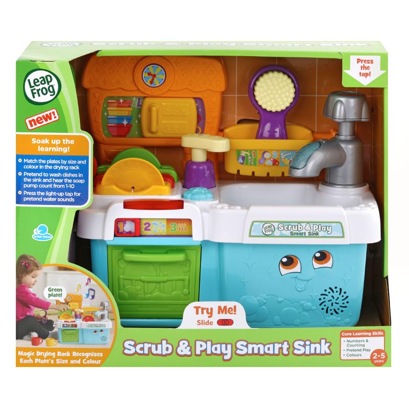Leap Frog Scrub & Play Smart Sink