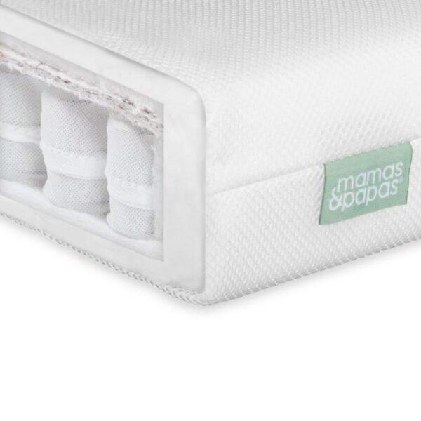 Mamas & Papas Premium Pocket Spring Cotbed Mattress