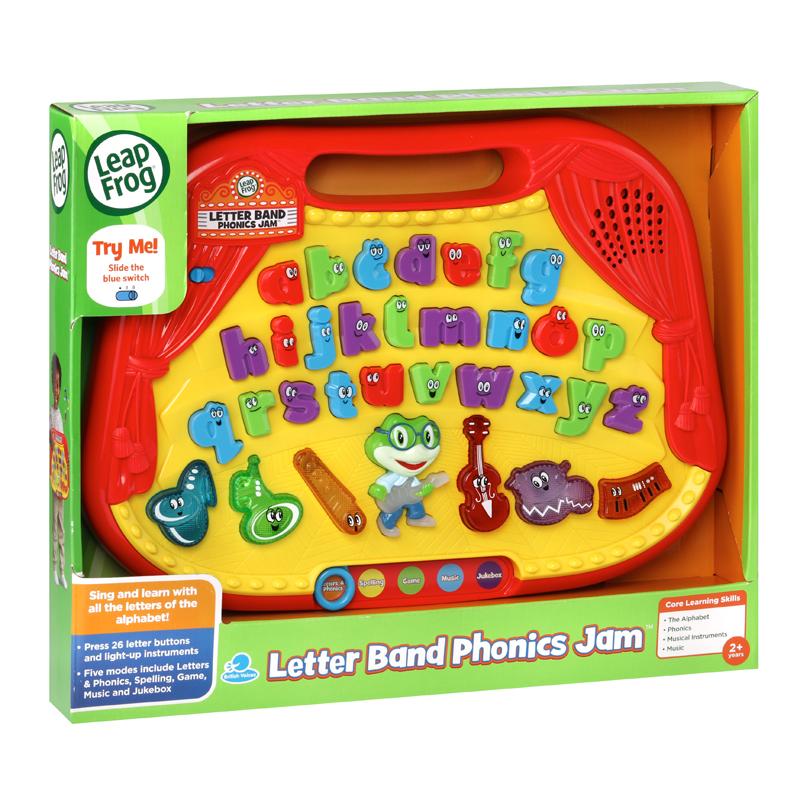 Leap Frog Letter Band Phonics Jam
