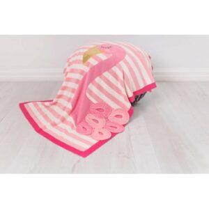 Bizzi Growin Blanket Shawl Flora Flamingo Picture