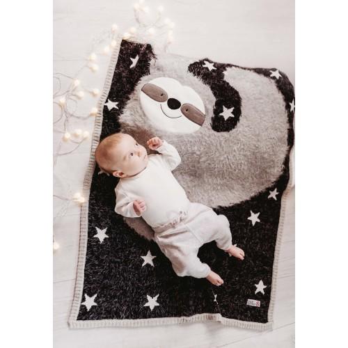 Bizzi Growin Blanket Shawl Sydney Sloth Picture