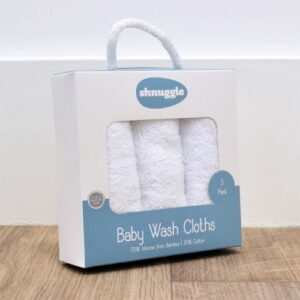 Shnuggle Baby Wash Cloths - Pack of 3