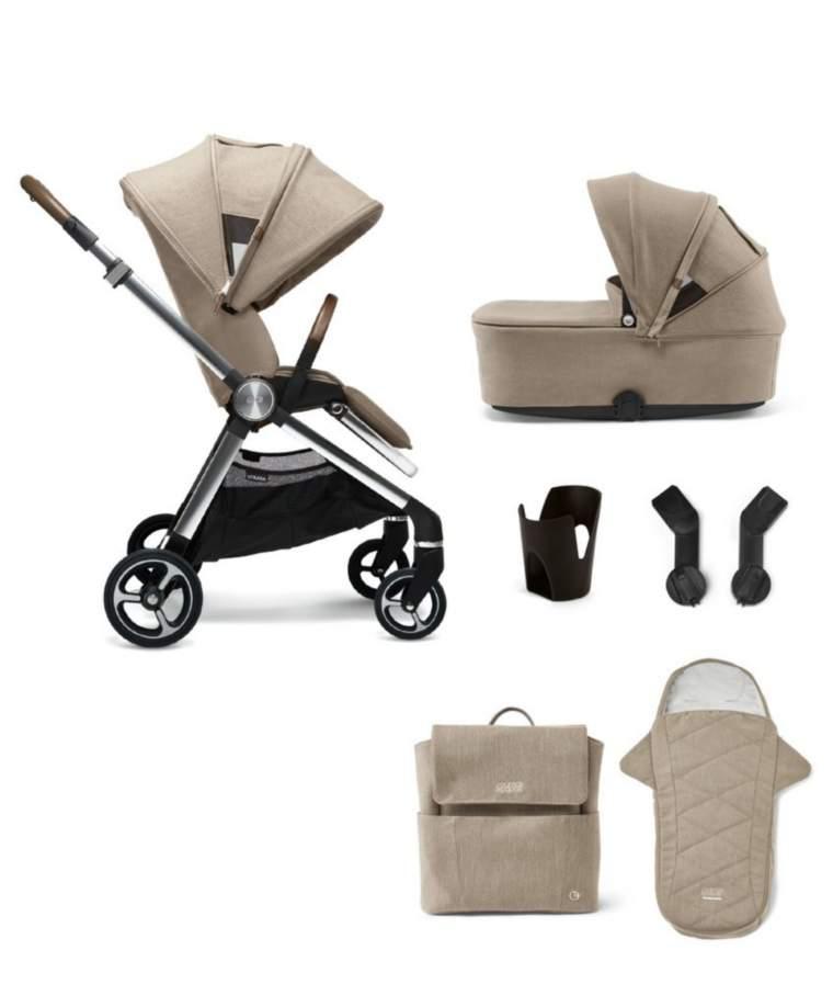 Mamas & Papas Strada 6 Piece Essentials Bundle - Cashmere