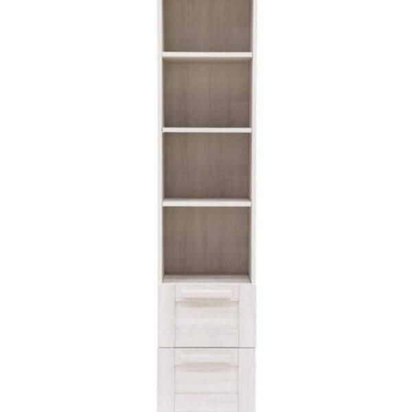 Mamas & Papas Atlas Freestanding Nursery Bookcase Nimbus White