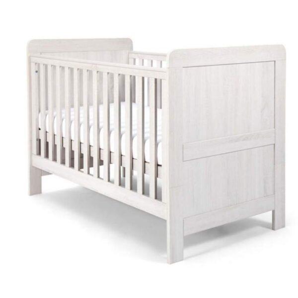 Mamas & Papas Atlas Convertible Cot & Toddler Bed White