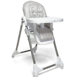 Mamas & Papas Snax Adjustable Highchair with Removable Tray Insert - Grey Spot