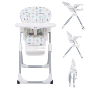 Joie Mimzy Baby Highchair - Pastel Forest