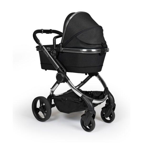 iCandy Peach Pushchair & Carrycot Chrome Black Twill