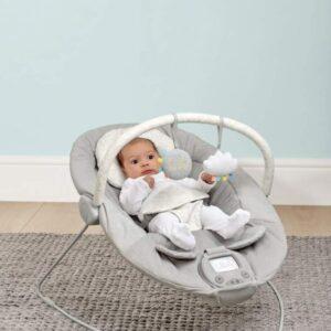Mamas & Papas Apollo Bouncing Cradle Baby Bouncer - Pebble Grey