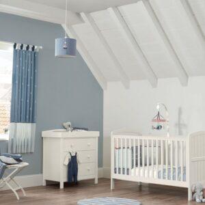 Mamas & Papas Dover 2 Piece Cot Bed Set White