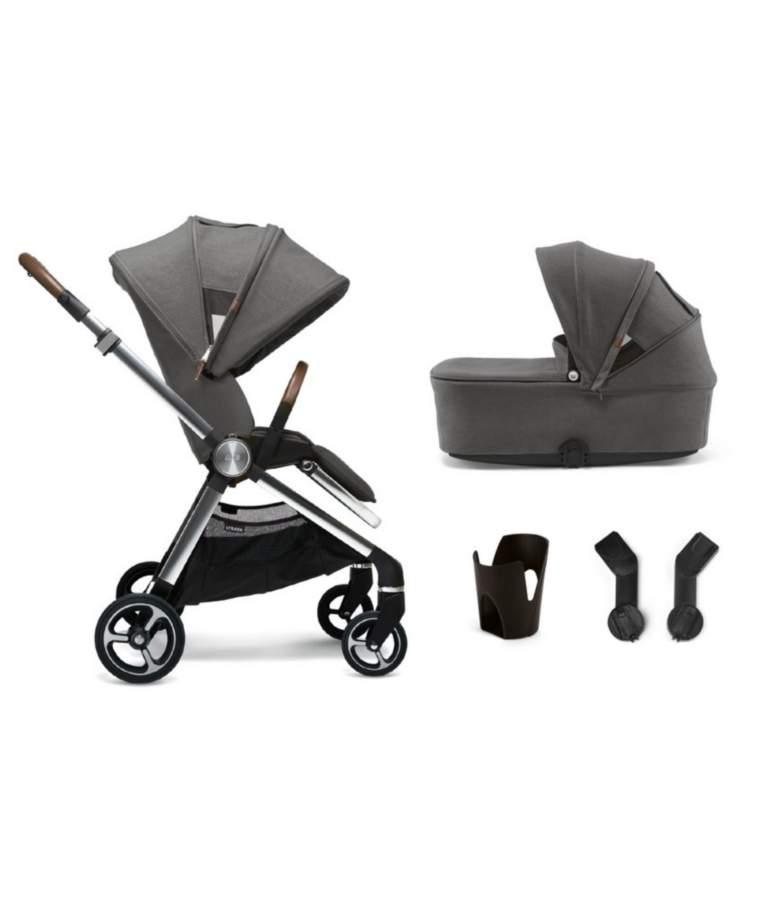 Mamas & Papas Strada 4 Piece Starter Bundle - Grey Mist