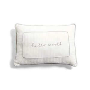 NEW Mamas & Papas Welcome To The World Elephant Cushion White