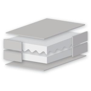 East Coast Airflow Cot Bed Foam Mattress - 140 x 70cm