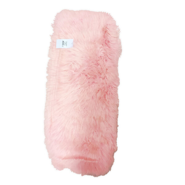 Bozz Longwool 100% Sheepskin Pushchair Seat Liner - Pink