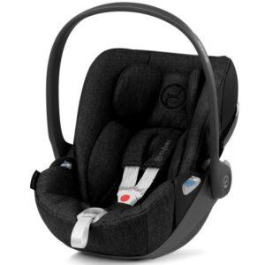Cybex Cloud Z i-Size Plus Infant Carrier - Deep Black