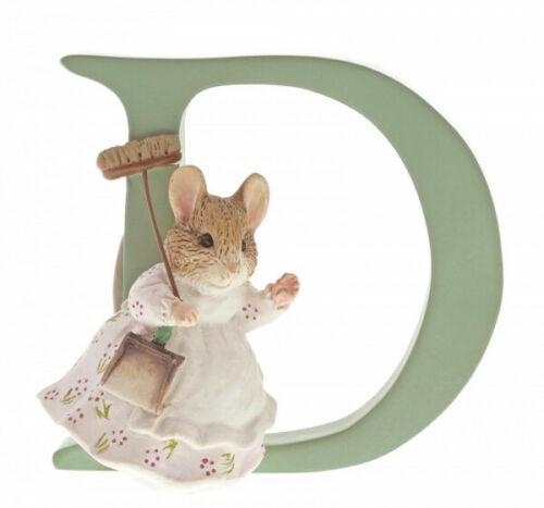 "Peter Rabbit Letter Collection ""D"" - Hunca Munca Sweeping"