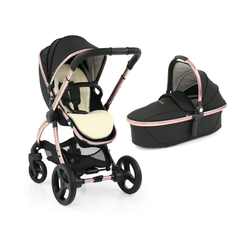 Egg 2 Stroller with Carrycot - Diamond Black