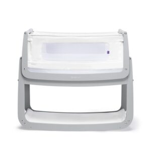 SnuzPod 4 Bedside Crib Dove Grey