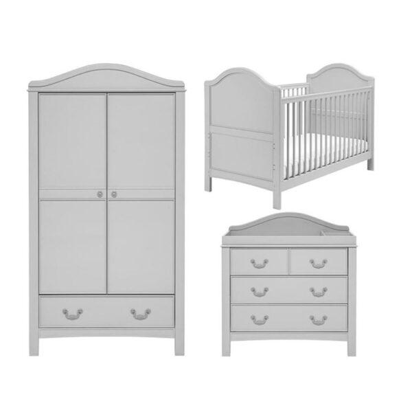 East Coast Toulouse 3 Piece Furniture Set Grey