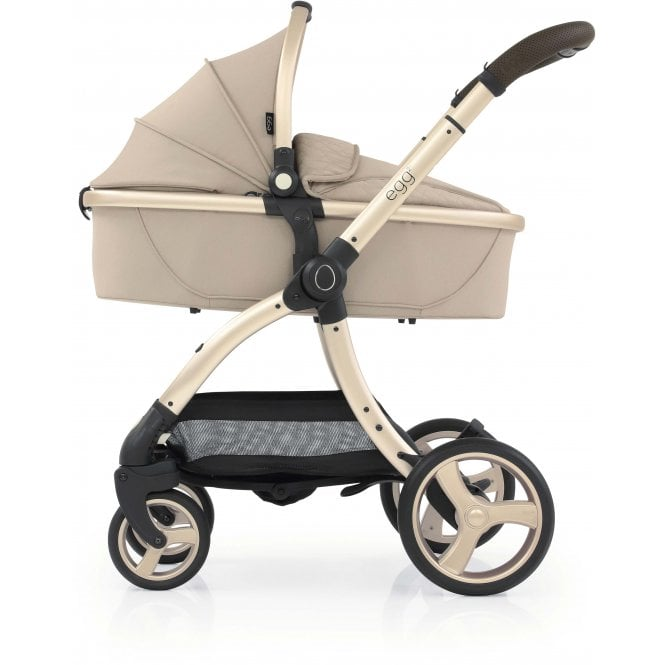 Egg 2 Stroller with Carrycot - Feather