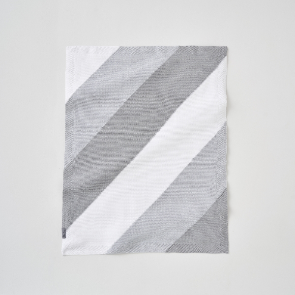 Silver Cross Hello Little One - Grey Knitted Blanket
