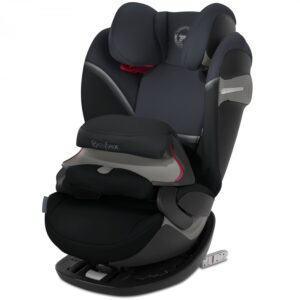 Cybex Pallas S-Fix Group 1/2/3 Car Seat - Granite Black