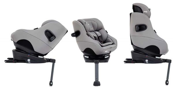 Joie i-Spin 360 Group 0+/1 i-size Car Seat - Grey Flannel