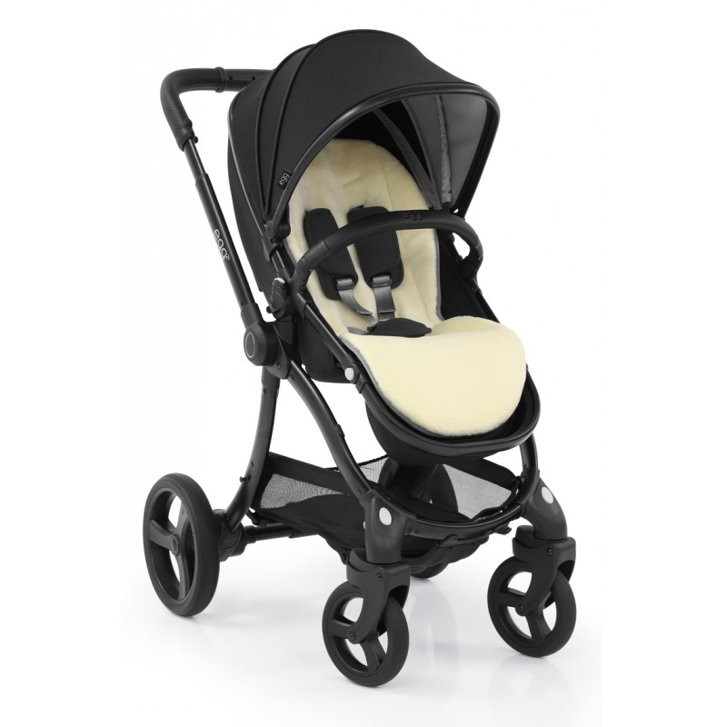 Egg 2 Stroller with Carrycot - Just Black