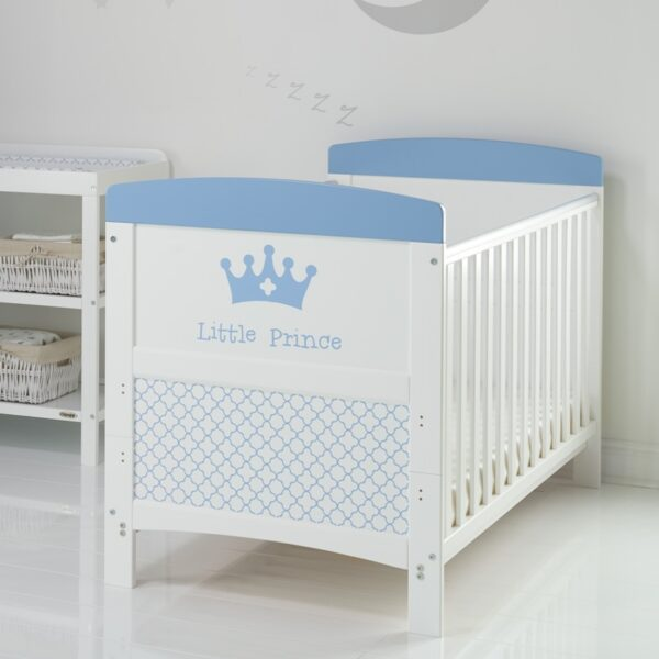 Obaby GRACE INSPIRE COT BED – LITTLE PRINCE