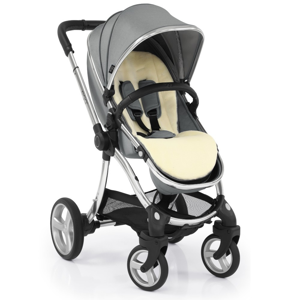 Egg 2 Stroller with Carrycot - Monument Grey