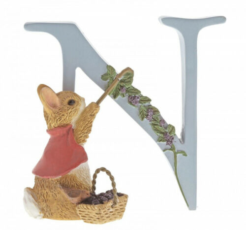 """Peter Rabbit Letter Collection """"N"""" - Cotton-tail"""
