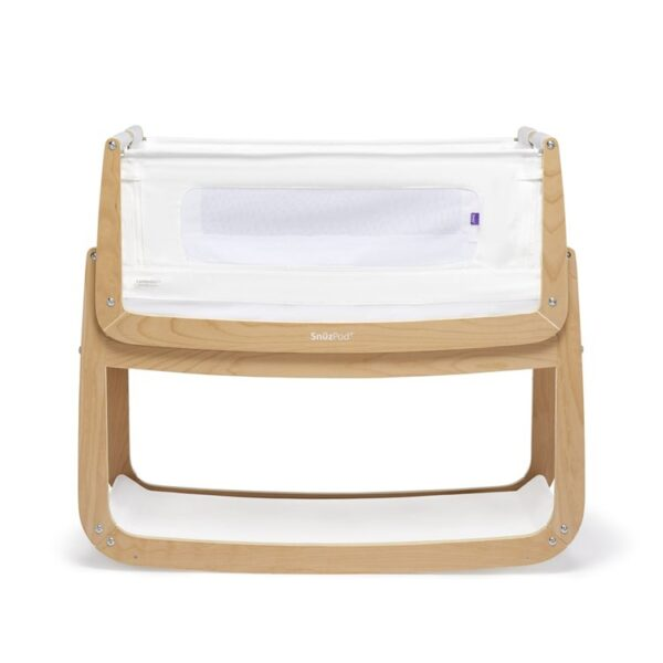 SnuzPod 4 Bedside Crib Natural