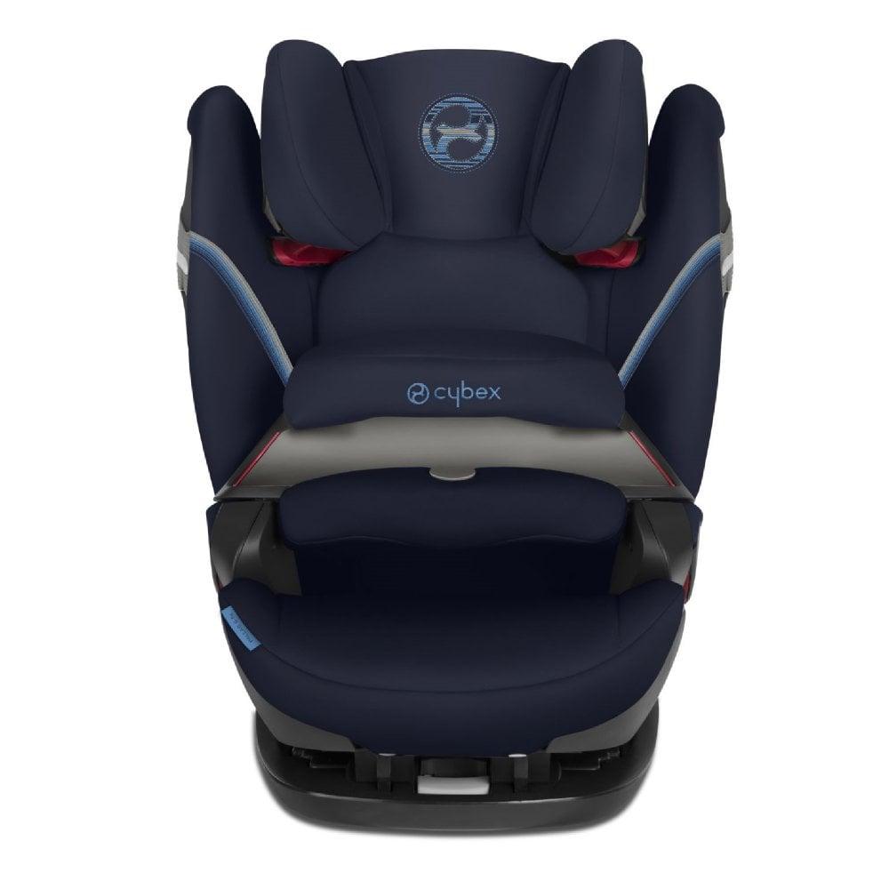 Cybex Pallas S-Fix Group 1/2/3 Car Seat - Navy Blue