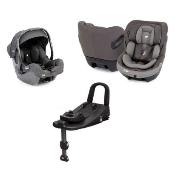 Joie i-Size Safe Car Seat Bundle with FREE i Base Advance - iGemm