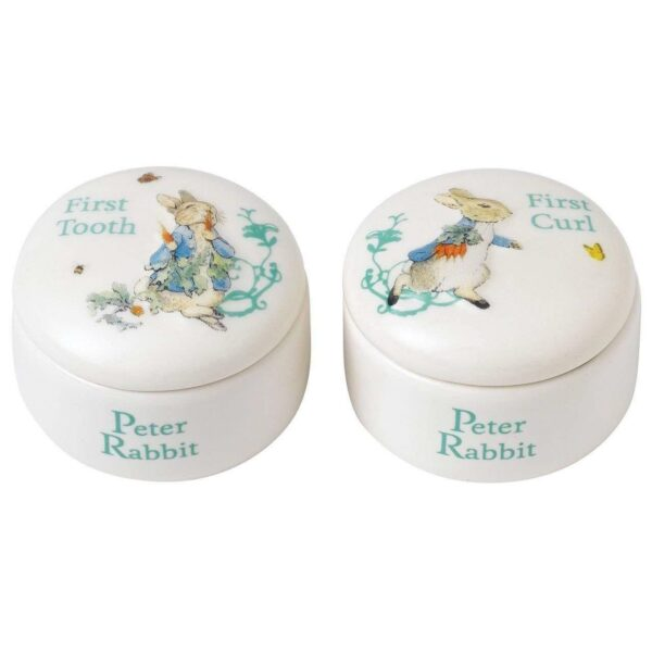 Beatrix Potter Peter Rabbit Tooth and Curl Box