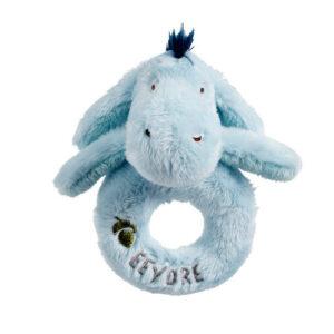 Disney Classic Eeyore Baby Ring Rattle