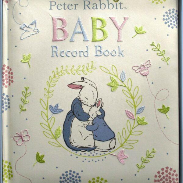 Rainbow Designs Beatrix Potter Peter Rabbit Baby Record Book