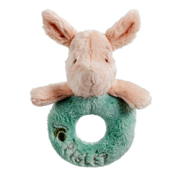Rainbow designs Disney Piglet Ring Rattle - Suitable From Birth