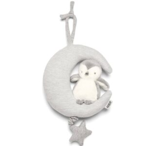 Mamas & Papas Musical Toy - Penguin and Moon