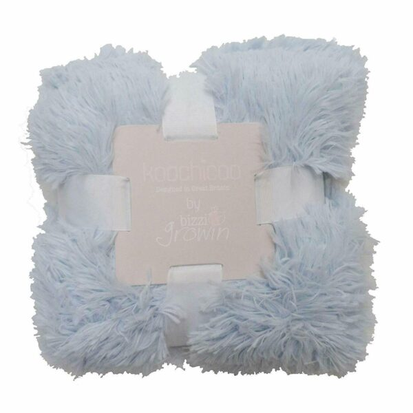 Bizzi Growin Koochicoo Fluffy Baby Blanket – Blue