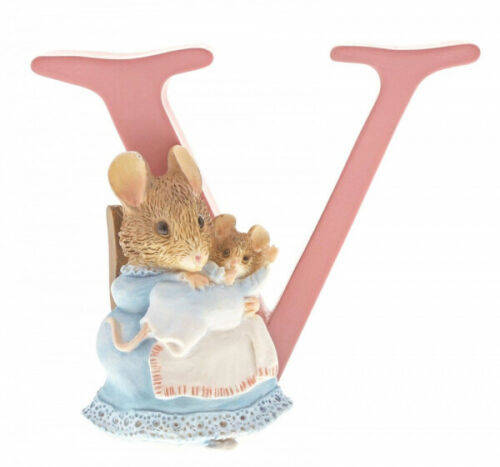 """Peter Rabbit Letter Collection.""""V"""" - Hunca Munca and Baby"""