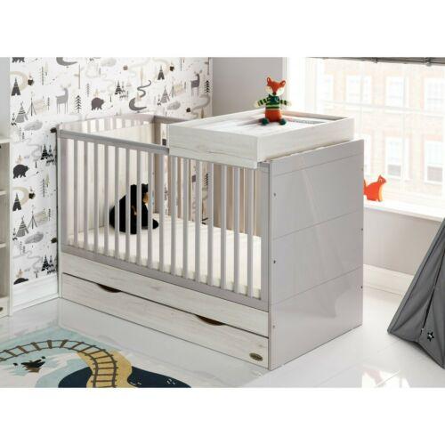 Obaby Madrid 3 Piece Nursery Furniture Set - Lunar